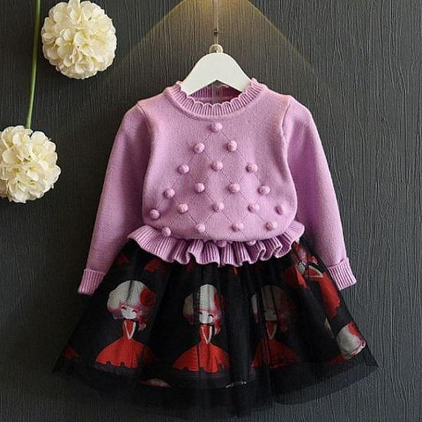 Rsslyn Lavander Bolero for Little Girls Cotton Spring and Summer Tops for Baby Girls Crop Jacket
