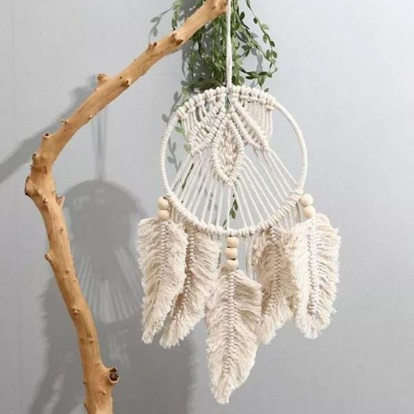 Rsslyn Nordic Style Dream Catcher Tapestry RSS04-352021 Macrame Rooms Decoration