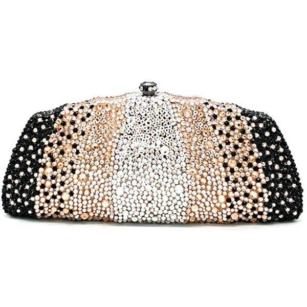 Rsslyn Black Clutch for Women Unique Elegant Handbags