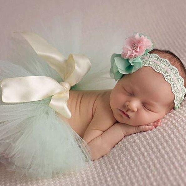 Mintgreen Baby Props Newborn Props Photography Baby Photo Shoots Ready for Shipping