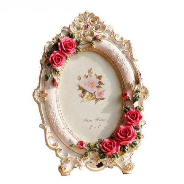 Decorative Photo Frames for Bedroom Picture Frame for Office Work-Floral Resin In Love with You Picture Frame-Lovely Kitchen Photo Frames