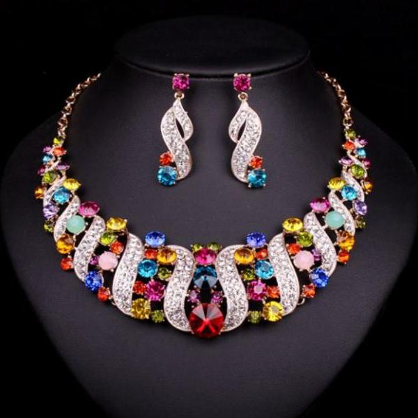Womens Multi-color Jewelry..
